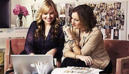 Hillary Kerr and Katherine Power of WhoWhatWear.com