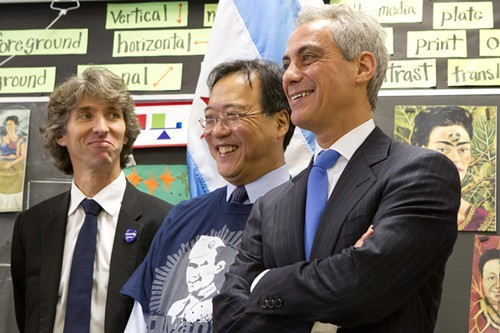 Just because Mayor Rahm says every public school student gets two hours of art each week doesnt mean its true.