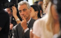 Mayor Rahm, hushed by the voters.