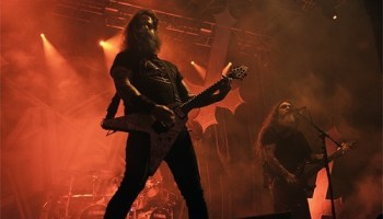 Slayer at Riot Fest this past summer