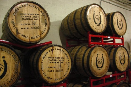 Some of the barrels Temperance uses to age beer. When Might Meets Right comes out of these, its gonna be dangerous.