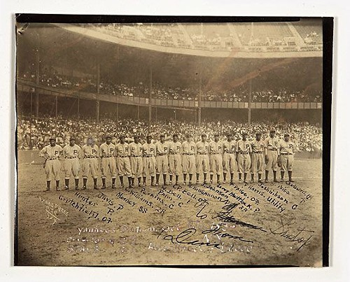 The 1934 Pittsburgh Crawfords, including Josh Gibson, Satchel Paige, and Oscar Charleston. Were they the greatest team of all time?