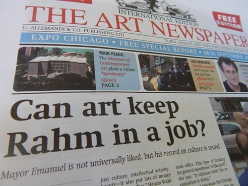 The Art Newspaper, Expo Chicago Special Report