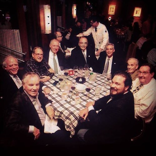 The big boys let Mayor Rahm sit at the grown-ups table.
