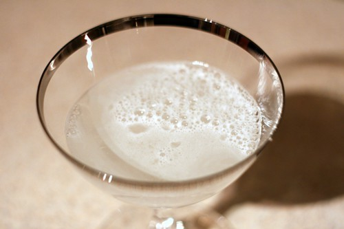 The Brace cocktail, made with whey