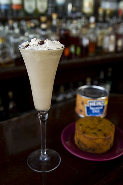 The Lord Housers Spotted Dick Cream by Graham Courter at the Matchbox.