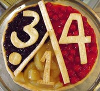 Thus proving that pie and pi are interchangeable
