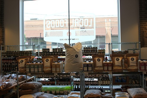 Baker Miller flour, which is sold to Hewn to make bread, which is sold to Local Foods
