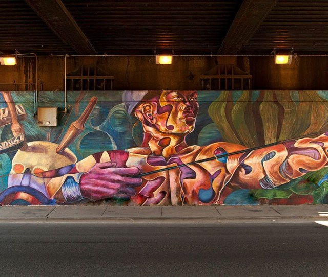 After City Accidentally Whitewashes Landmark Mural Artists And Activists Demand Change