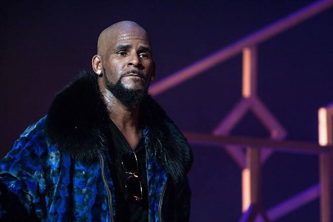 R. Kelly performing in 2016. - JAMIE LAMOR THOMPSON / SHUTTERSTOCK.COM