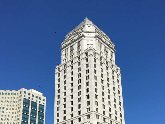 Floors 16 and above were evacuated at the Miami-Dade County Courthouse in downtown.  - PHOTO BY PHILLIP PESSAR / FLICKR
