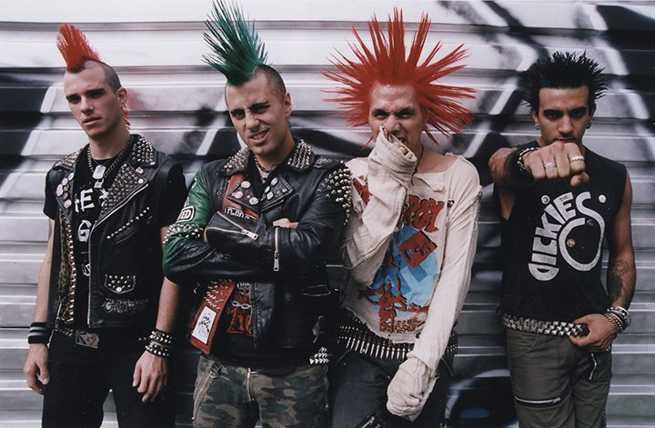 NYC Punks The Casualties Play Surf Expos Afterparty At