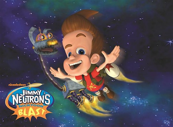 Nicktoon Neutron Forever Jimmy Blast S