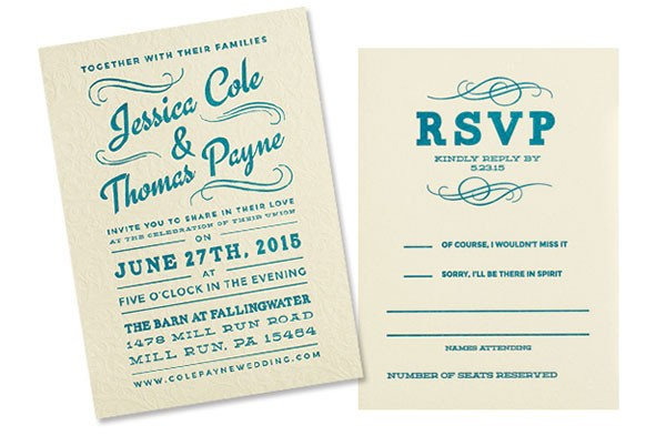 Unique Wedding Invitations From Local Artists