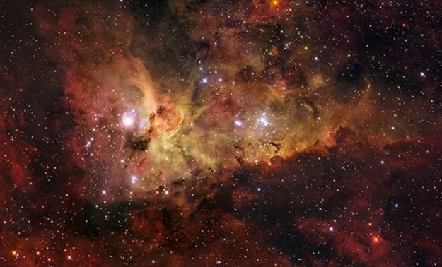 The Carina Nebula - ESO/IDA/DANISH 1.5 M/R.GENDLER.