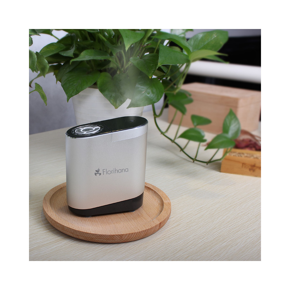 nebulizing microparticles essential oils diffuser florihana