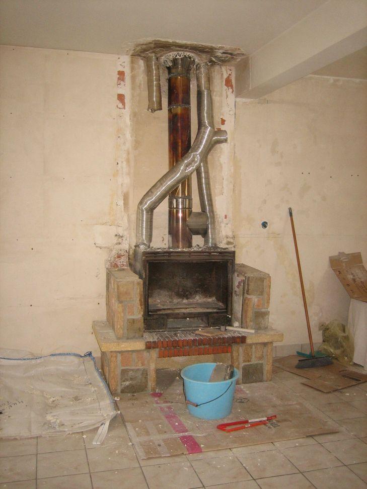 remplacement cheminee insert par poele
