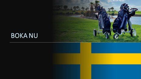 Vuokraa golfvälineesi Ruotsista