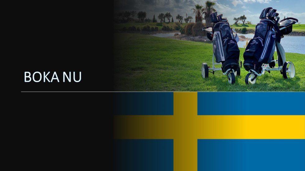 Wynajem sprzętu golfowego w Szwecji Zarezerwuj teraz
