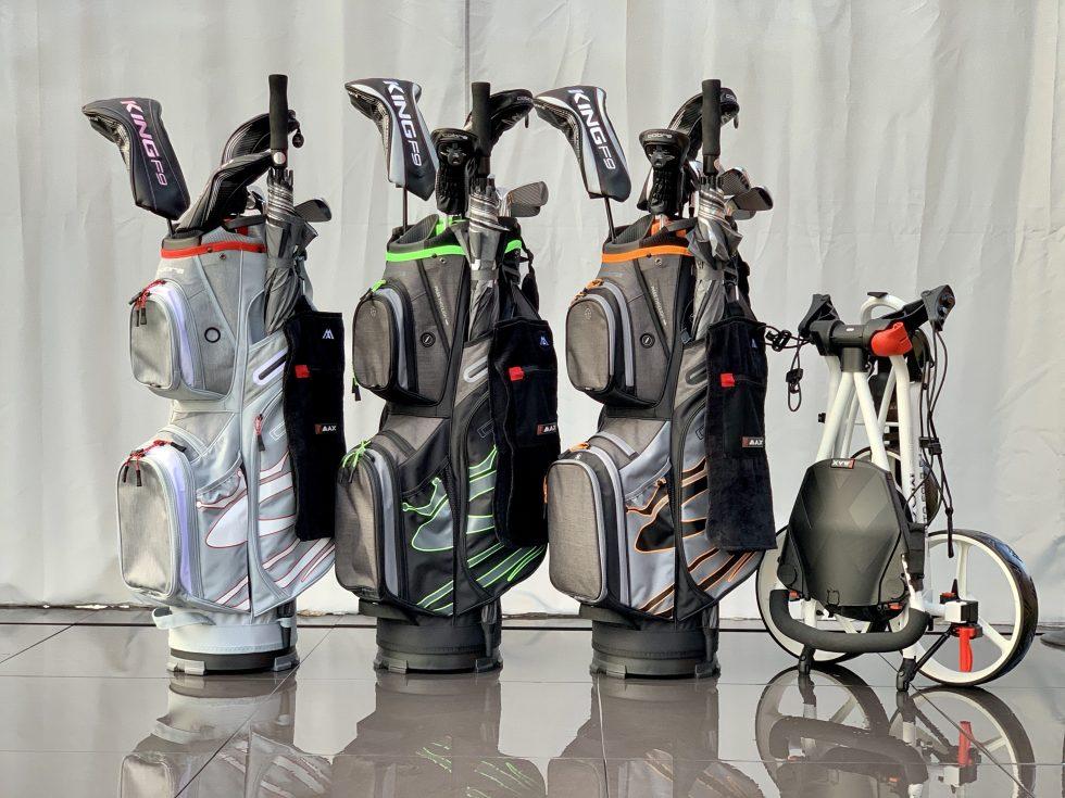 Hyr golfutrustning i dag.