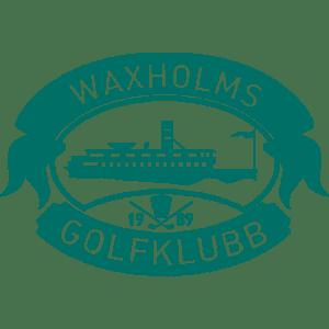 logotipo de waxholmsgolfklubb