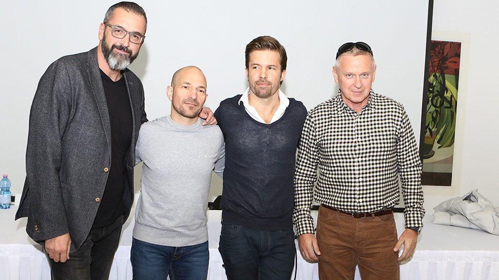 Bakai Mátyás, a Rádió 1 régi-új ügyvezetője (jobbra)