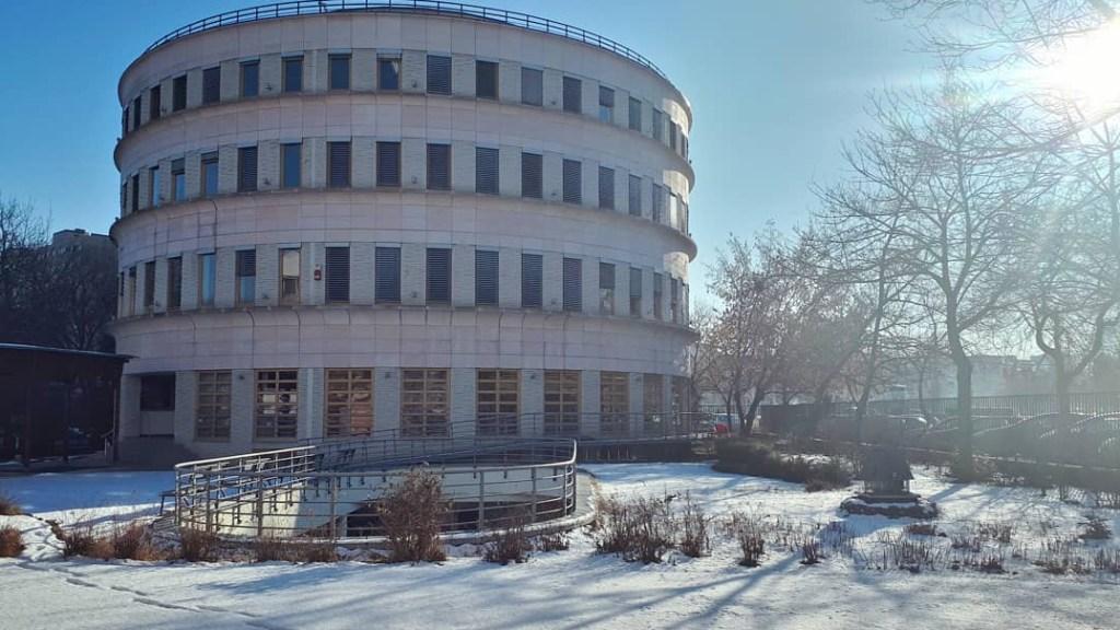 A METU körépülete az Örs vezér téren Budapesten.