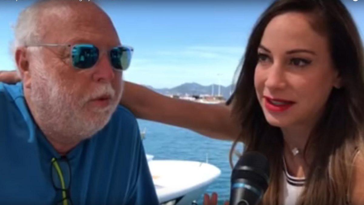 Andy Vajna és felesége, Vajna Tímea interjút ad Körmendi Gábornak