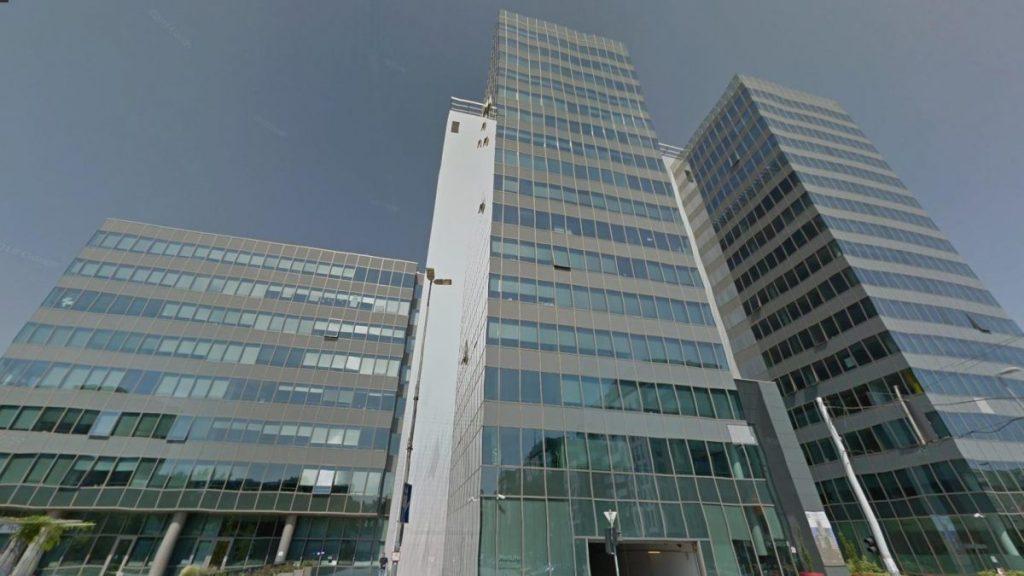 A Music FM által is használt GTC irodaház Budapesten. Fotó: Google Utcakép