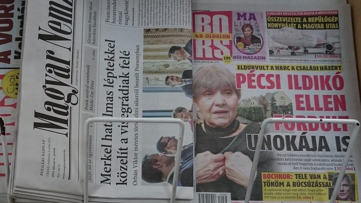 Bors, újság, napilap