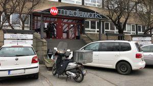 A Mediaworks székháza Budapesten. Fotó: Ladányi András, Media1