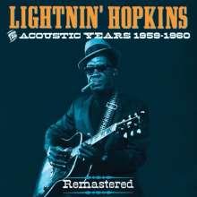 Sam Lightnin' Hopkins: The Acoustic Years 1959 - 1960 (4 ...