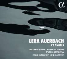 Lera Auerbach (geb. 1973): 72 Angels - In Splendore Lucis, CD