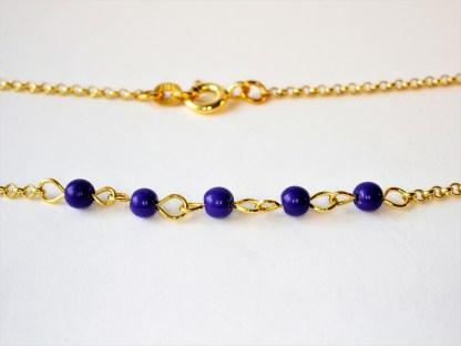 Halsband Summer med Lapis Lazuli