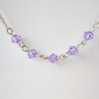 Halsband Summer Violet