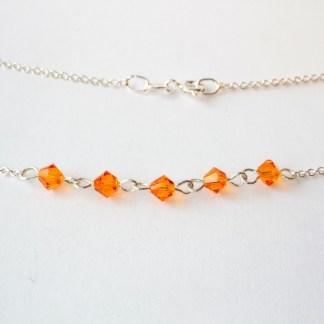Halsband Summer Tangerine