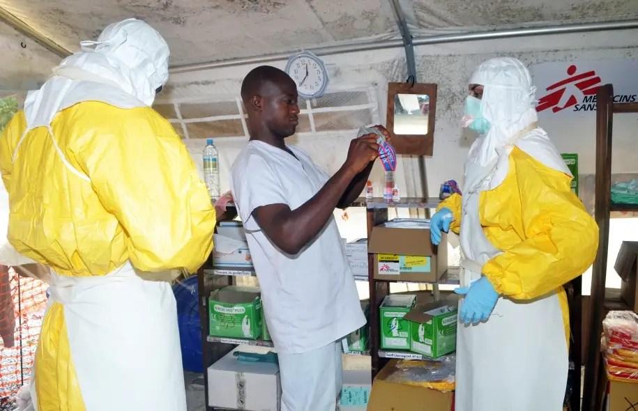 L'ONG Médecins sans frontières est active au Liberia.