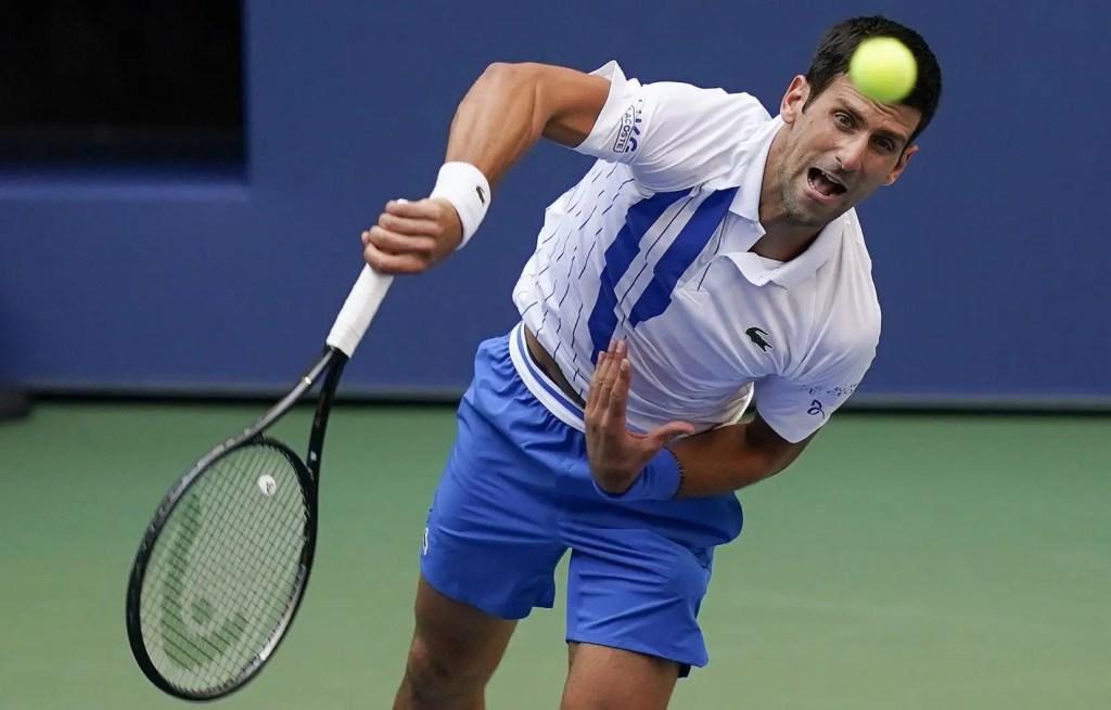 Novak Djokovic disqualifié des Internationaux des États-Unis