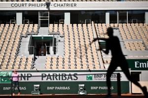 Les joueurs bénéficieront d'une heure à l'extérieur de la bulle à Roland-Garros