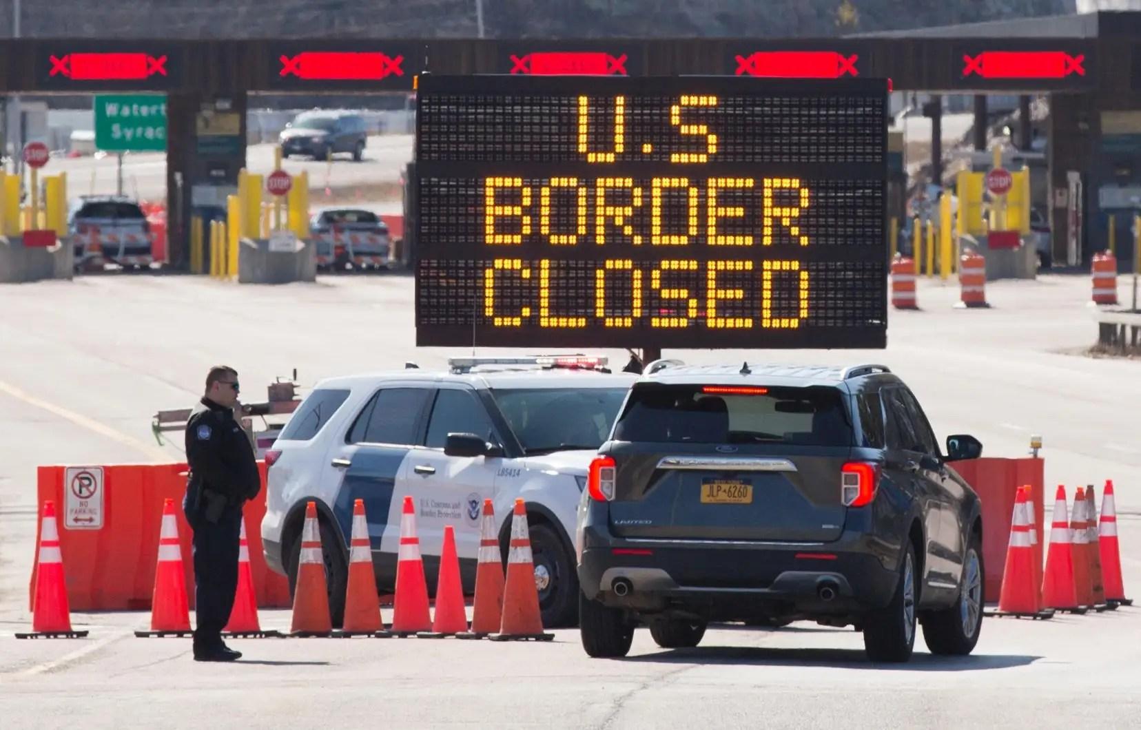 Les États-Unis demeurent barricadés