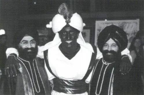 La photo de Justin Trudeau déguisé en Aladin à Vancouver en 2001. Photo: La Presse canadienne / West Point Grey Academy