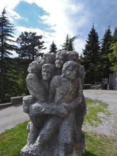 statue ispred Štanjela