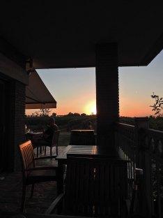 sunset na terasi