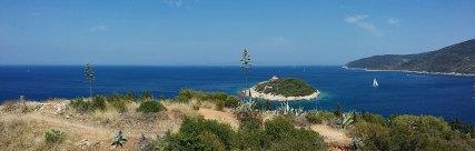 panoramski pogled sa viške trvđave