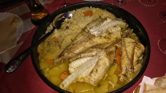 riba ispod peke