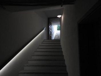 stepenište do soba