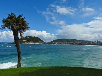 view from Miramar palace