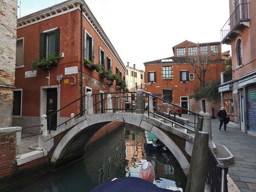 San Polo district jedan od zilion mostića u Veneciji