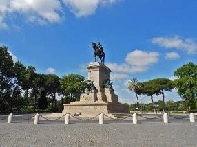 janiculum-Garibaldi spomenik