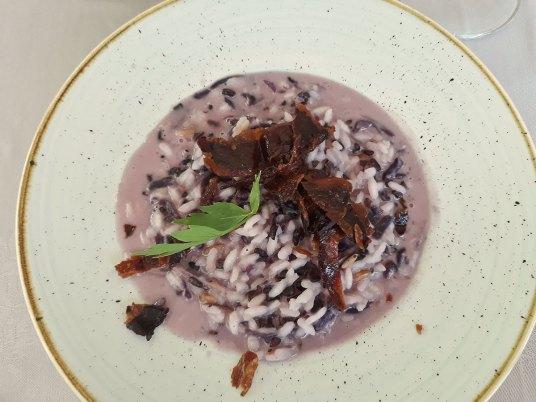 Favorit rižoto sa crvenim kupusom